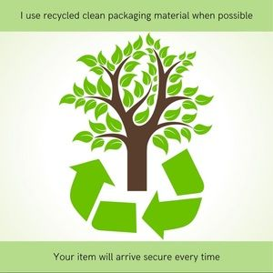 clean recycled packaging materials